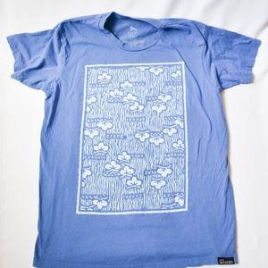 "Men's Graphic Tee  - 100% Cotton ""Nica Tee"" Print"